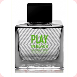 Play In Black Seduction for Men  Antonio Banderas