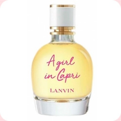 A Girl In Capri Lanvin