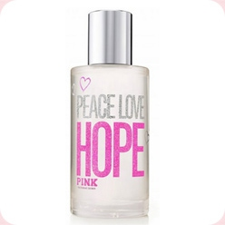 Pink Peace Love Hope Victoria`s Secret