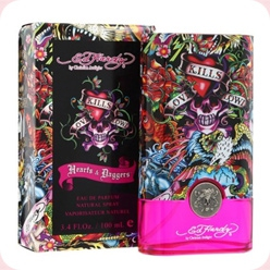 Hearts & Daggers for Her Ed Hardy