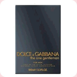 D&G The One Gentleman Dolce And Gabbana