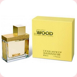 She Wood Golden Light Wood Dsquared