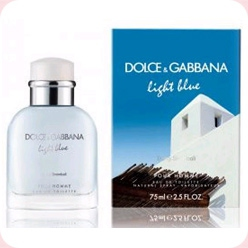 Light Blue Living Stromboli  Dolce And Gabbana