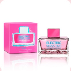 Electric Blue Seduction for Women  Antonio Banderas