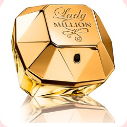 P. R. Lady Million Absolutely Gold  Paco Rabanne