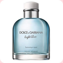 DG Light Blue Swimming in Lipari  Dolce And Gabbana