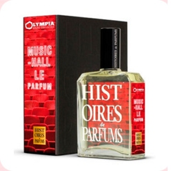 L`Olympia Music Hall  Histoires de Parfums