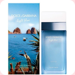 Light Blue Love in Capri  Dolce And Gabbana