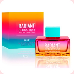 Radiant Seduction Blue For Women  Antonio Banderas